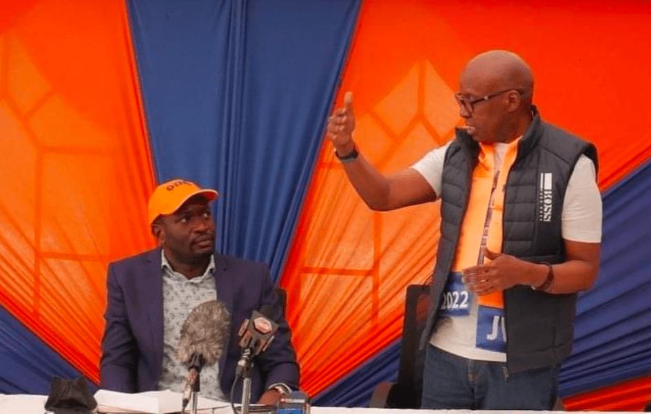 Things Get Ugly As Jimi Wanjigi War With ODM Secretary General Edwin Sifuna Intensifies