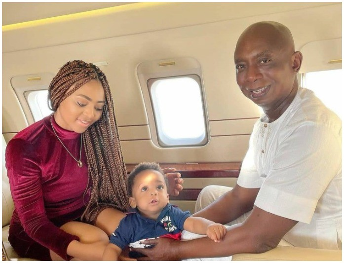 Nollywood Actress Regina Daniels Celebrates 21st Birthday In Israel With 61-year-old Billionaire Husband (Photos)