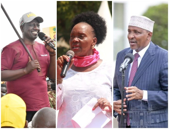 Ruto Comes To The Defence Of Kisumu Women Rep Who Was Abused By Duale