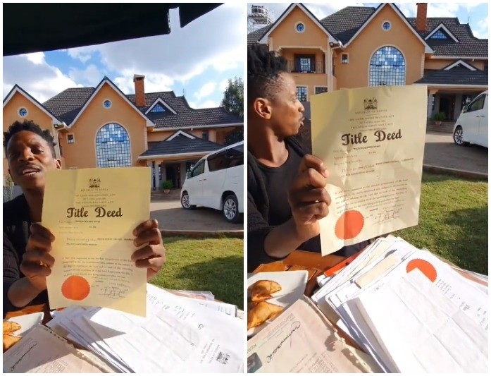 Fake Title Deed: Eric Omondi Reaches Out To Edgar Obare After He Exposed Truth About Ksh141 Million Karen Mansion