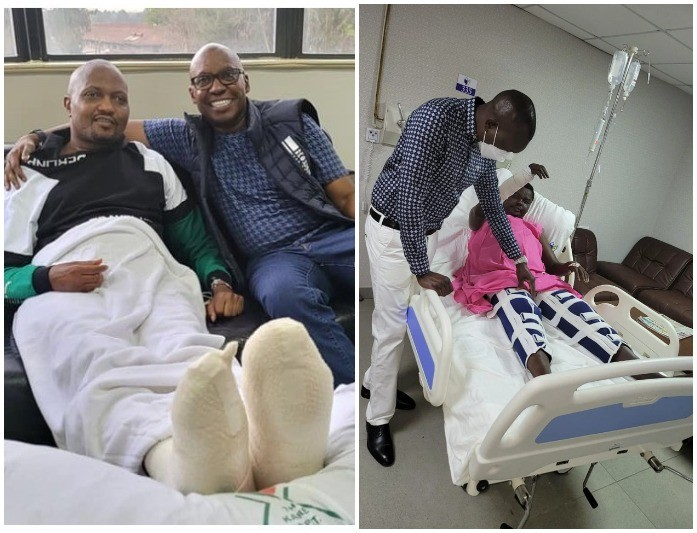 Another Ruto Ally Ainabkoi MP Suffers Serious Injuries To His Legs Weeks After Moses Kuria's Ordeal