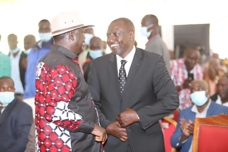 Ruto Still Most Favorite Candidate In Mt.Kenya But His Support Drops By 24% As Raila Makes Inroads