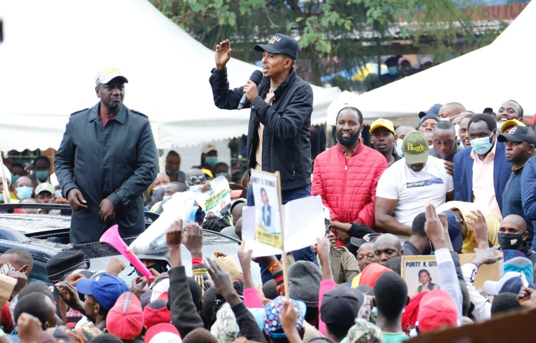 Ruto Forced To Intervene As His Allies Are Heckled In Nyandarua And Laikipia