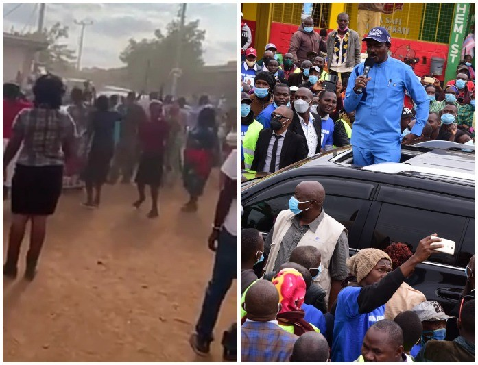 Kalonzo, Mudavadi, Wetangula Chased Like Thieves In Makueni As Campaigns Turn Chaotic